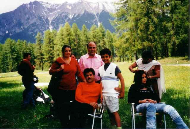Anil & Manisha Koirala